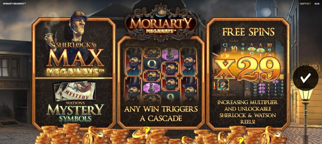 Moriarty Megaways slot online